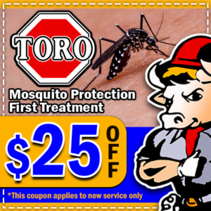 Toro Coupons - Mosquito Protection